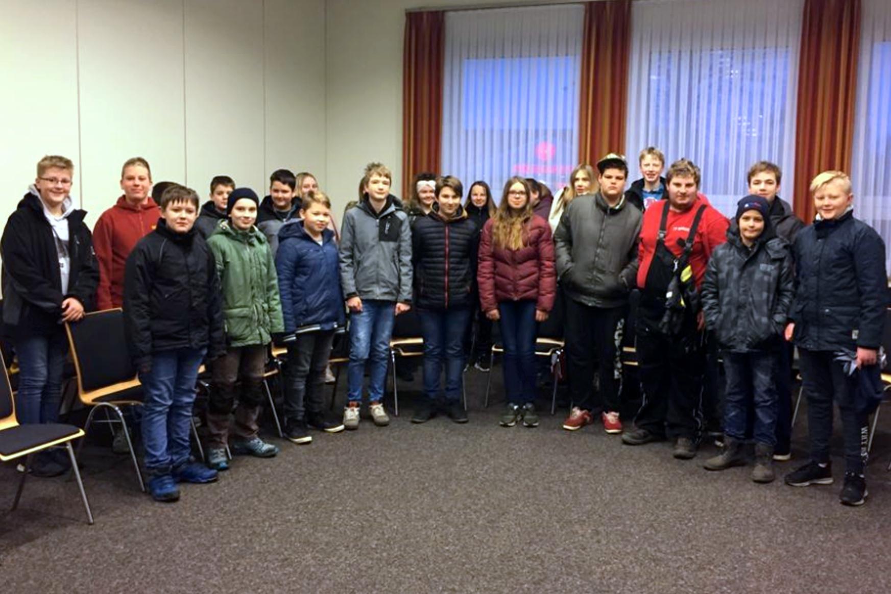 Unsere Jugendlichen Helferinnen und Helfer